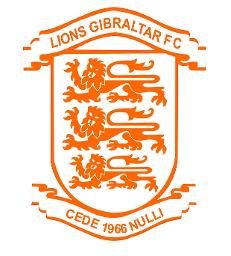 Lions Gibraltar FC Intermediate Logo