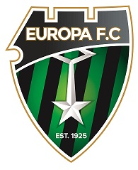 Europa FC White Logo