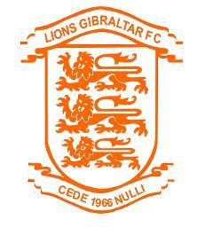 Lions Gibraltar Black Logo