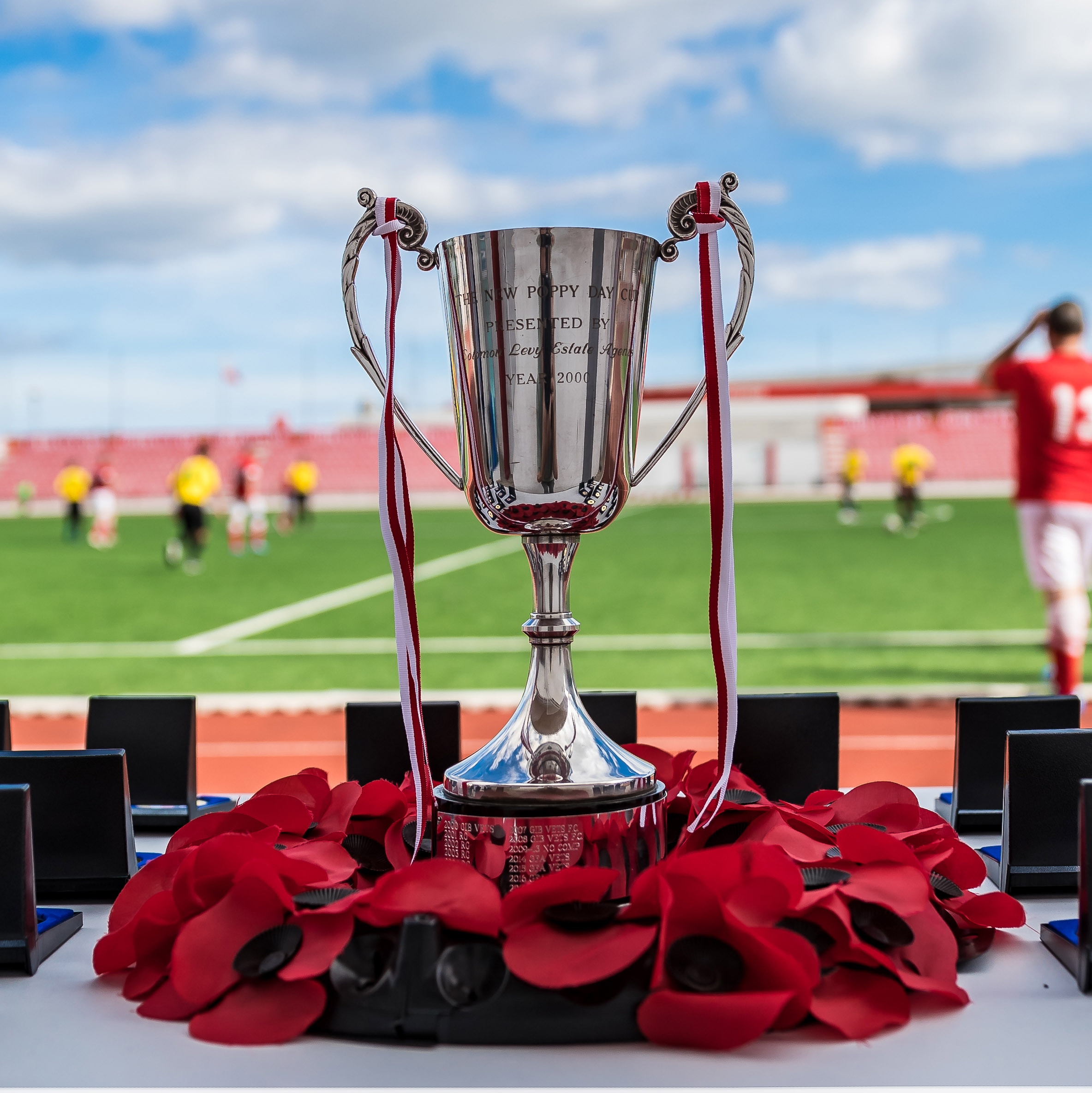 Poppy Day Cup 2018 - Trophy